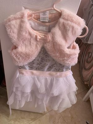 3T Formal dress pink and silver for Sale in Hialeah, FL
