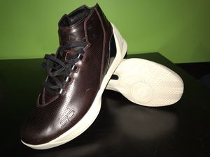 Under Armour Men's UA Curry 3 Lux Limited Edition Shoes - Sz 10.5, Oxblood Leather for Sale in Falls Church, VA