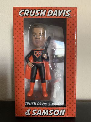 Crush Davis & Samson Baltimore Orioles MLB SGA Super Hero Bobblehead for Sale in Katy, TX