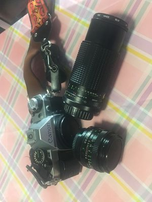 Canon AE 1 Camera with two lenses for Sale in Phoenix, AZ