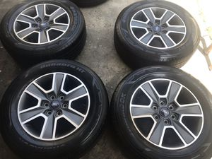 Ford F-150 Expedition rims and tires 265/60/18 for Sale in Garden Grove, CA