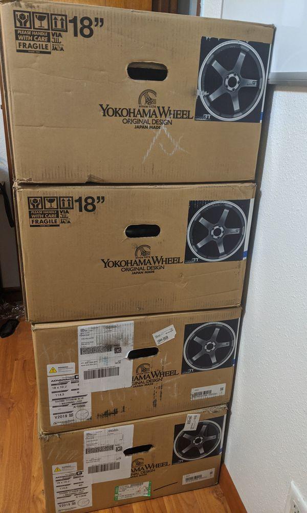 Advan GT Premium 18x10+40