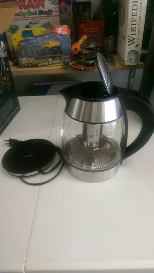Electric Glass Kettle for Sale in Riverside, CA