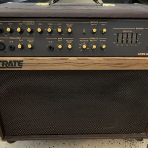 Acoustic amp: crate CA 112 for Sale in Atlanta, GA