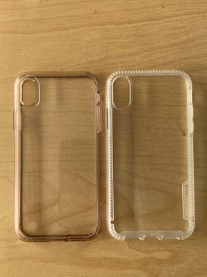 2 pack protector clear case for iPhone XR for Sale in Anaheim, CA