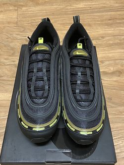 Nike Air Max 97 Undefeated Black Volt 9.5 for Sale in Arlington,  VA