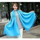 """Brand New Gorgeous Warm Soft 100% Cashmere Blue Sky Scarf Wrap Shawl 74""""x28"""" in package for Sale in Austin, TX"""