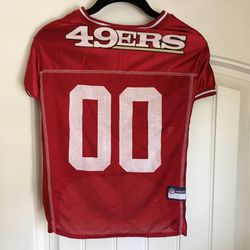 Dog's 49ers Jersey #00 for Sale in Campbell,  CA