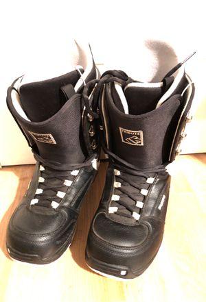 Burton Tribute Snowboard Boots Men's size 11 ,Black for Sale in Milpitas, CA