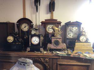 Antique Mantle Clock + More for Sale in Vista, CA