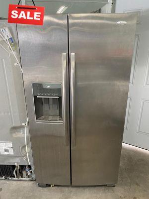 MESSAGE NOW! Refrigerator Fridge Whirlpool Side by Side #1475 for Sale in Deltona, FL