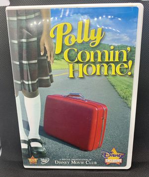 POLLY COMIN' HOME! DVD Disney Movie Club Exclusive HTF Rare OOP for Sale in South Hill, WA