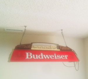 Budweiser Light / Bar / Man Cave / Pool Table / Game / Guy Room / Beer for Sale in San Marcos, CA