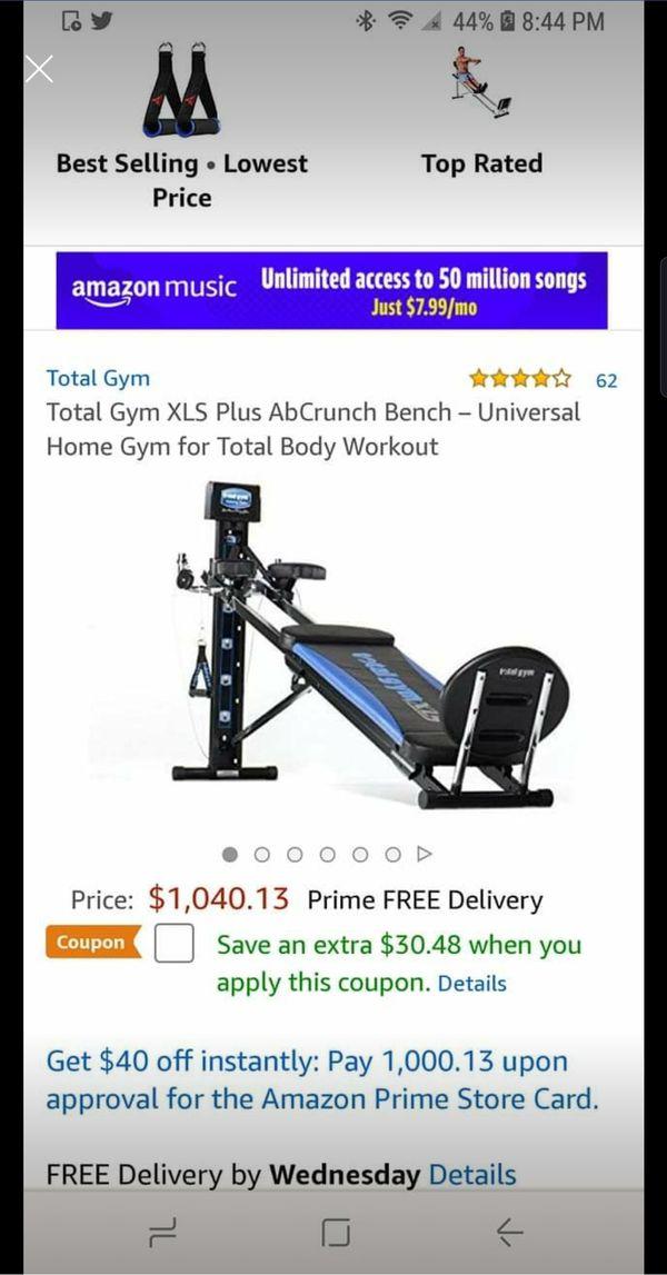 Total Gym XLS