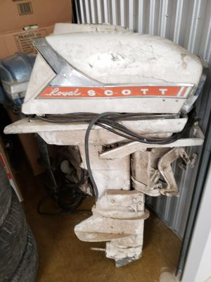 Scott 60 Horse Outboard Boat Motor for Sale in Dallas, TX