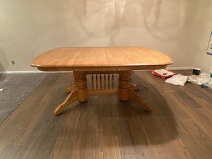 Maple Dining Table for Sale in Santa Clarita, CA