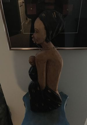 Hand Crafted Wooden Art figure for Sale in Washington, DC