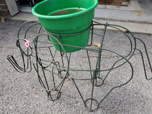 Elephant wire plant holder for Sale in Pickerington, OH