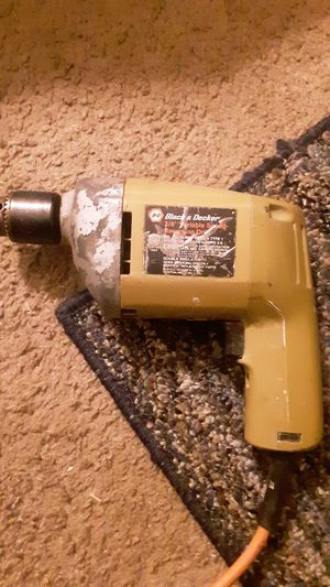 Black And Decker Vintage corded drill for Sale in Fayetteville, AR