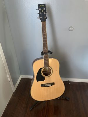 Left Handed Acoustic Ibanez Guitar for Sale in Los Angeles, CA