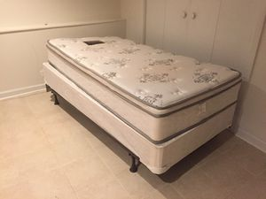 Twin Bed Frame and Mattress for Sale in Arlington, VA