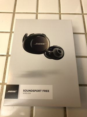Bose Soundsport Free Bluetooth earbuds for Sale in Rancho Cucamonga, CA