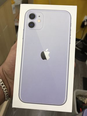 iphone11 purple factory unlocked no credit needed pay down payment only for Sale in Houston, TX