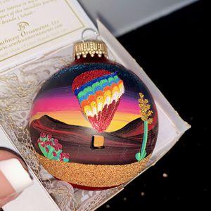 Dessert Sunset hot air ballon ride christmas ornament for Sale in Chandler, AZ