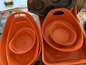 Rachael Ray bakeware bubble and brown for Sale in West Covina, CA