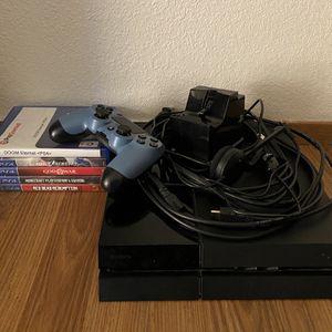 Original PS4 500GB w/accessories & games for Sale in Sacramento, CA