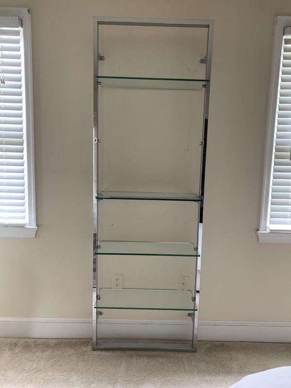 CB2 Chrome Shelf
