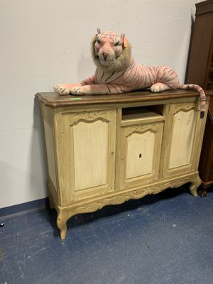 Antique yellow Victorian style buffet for Sale in Palmyra, PA