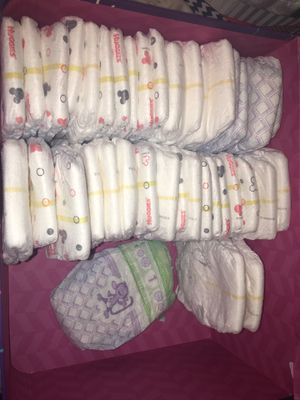 Size one diapers for Sale in Auburndale, FL