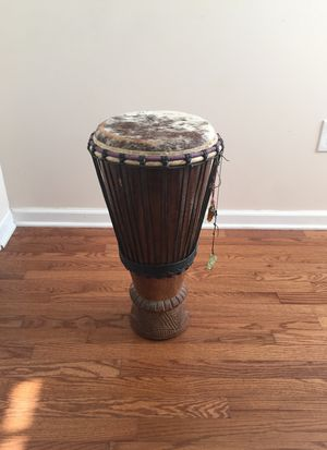 Hand made traditional African drum. for Sale in Johnson City, NY
