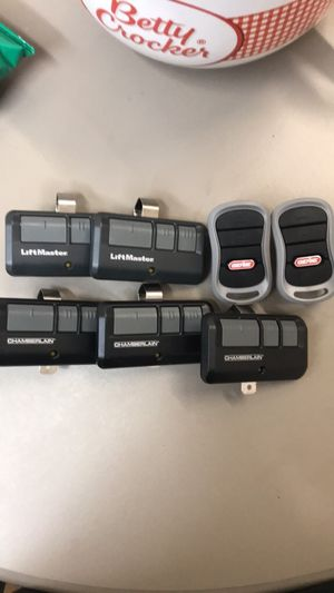 Garage door remotes sold separate for Sale in Aurora, CO