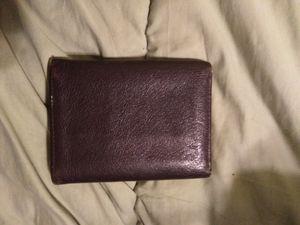 Men's brown ox leather wallet for Sale in Detroit, MI
