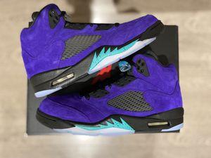 Jordan 5 Alternate Grape Size 11.5 Mens for Sale in Anaheim, CA