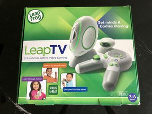 LeapFrog Leap TV gaming system with 2 games for Sale in Haines City, FL
