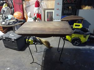 Antique table top needs legs TLC $15 for Sale in Reynoldsburg, OH