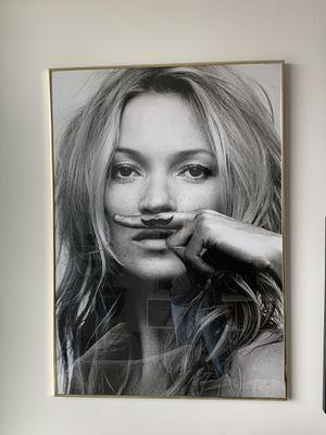 Kate Moss Framed Oversized Art for Sale in Tampa, FL