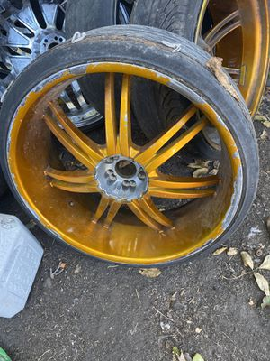 Two pairs of 26s rims need tires Five lug universal $500 for Sale in Oakland, CA