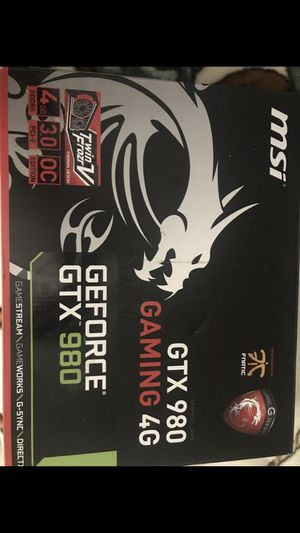 MSI GTX 980 4GB for Sale in Kent, WA