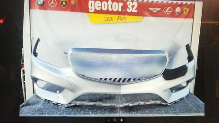 Mercedes E class front bumper 2014-2016 for Sale in South Gate,  CA