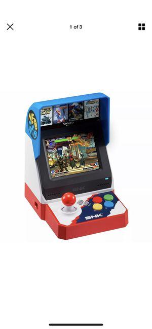 SNK NEO GEO NEOGEO Mini Classic 40th Anniversary Arcade (40 Games included) for Sale in Phoenix, AZ