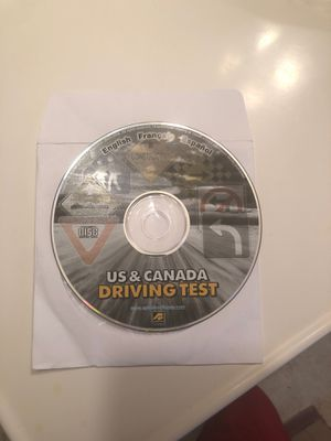 Us & Canada driving test cd rom for Sale in Cleveland, OH