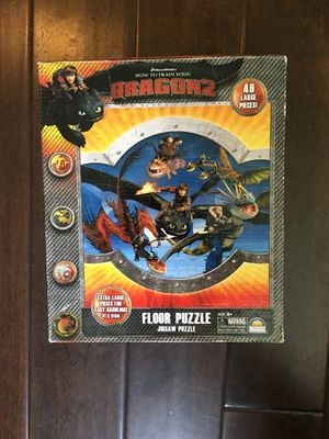 STAR WARS BATTLE MATCHING puzzle /Peppa Pig UPS-DOWNS game-HOW TO TRAIN YOUR DRAGON 2 PUZZEL ( 48 pieces) for Sale in South Pasadena, CA