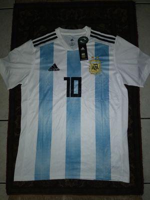 Jerseys Selección de Argentina Rusia 2018 Home Messi #10 Unisex Size L for Sale in Phoenix, AZ
