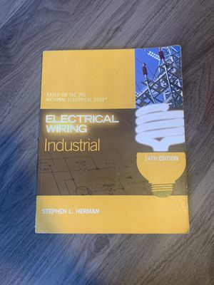 Electrical wiring industrial 14 edition for Sale in Compton, CA