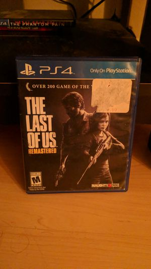 Last of Us Remastered for Sale in Tacoma, WA