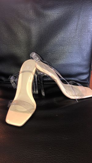 Clear heels for Sale in Sanford, FL